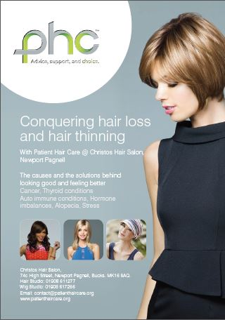PHC Conquering Hair Loss and Hair Thinning Brochure