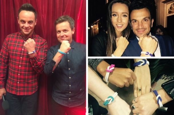 Celebrity Cancer Day Bands