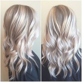 silver blonde blog